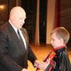 Вручение стипендий 2009