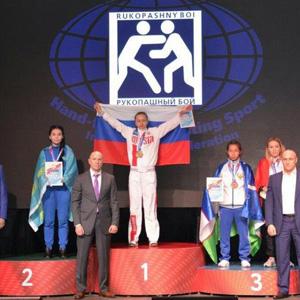 Ольга Брягиня стала чемпионкой Азии!