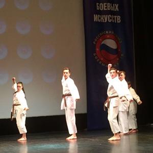 В Брянске наградили лучших спортсменов по версии филиала Российского союза боевых искусств