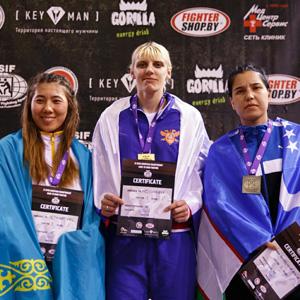 Елена Матвеева и Ольга Королева победители Чемпионата Европы по рукопашному бою