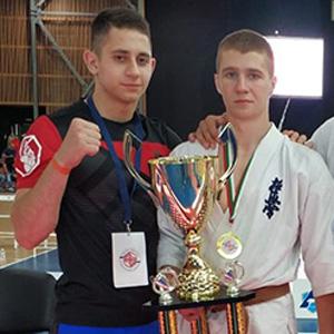 Брянец Максим Войтов стал победителем 12-го «Кубка Варны» по киокусинкай