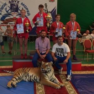 Брянская самбистка стала призером международного «Кубка двух морей»