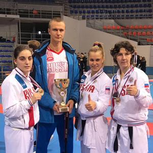 Мария Ларюхина стала чемпионкой Европы