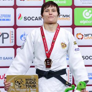 Наталья Кузютина завоевала бронзовую медаль на престижном турнире по дзюдо в Китае