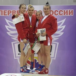 Зайкина – победитель Первенства России