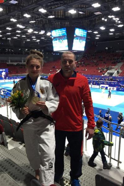 Цыганкова – бронзовый призер Кубка Европы